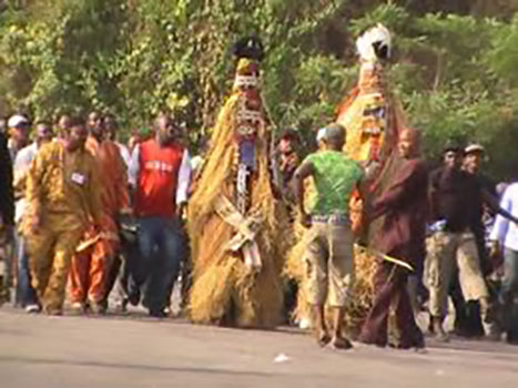 Good African Cultures, Photo of masquerade dance